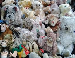 head lice removal means cleaning all the stuffed toys too!