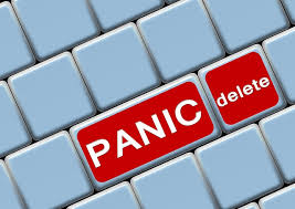 Panic Attacks Help panic delete on keyboard
