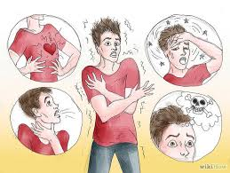 panic attack medication cartoon of symptoms